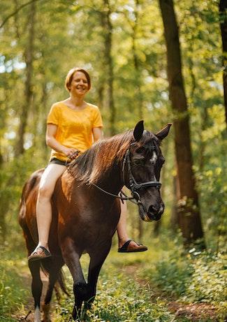 rutas en caballo oñati